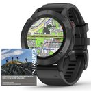 Garmin fenix6 PRO Glass, Black/Black Band (MAP/Music),Topo Czech PRO
