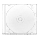 BOX FOR CD SLIM CASE 5,2MM CLEAR FROSTED 44844
