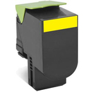 802HY Yellow High Yield Return Program Toner Cartridge - 3 000 stran